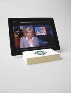 Few table saw passes + 5/4 WindsorONE = iPad Stand