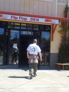 """Hell No!"" Flip Flop Den"