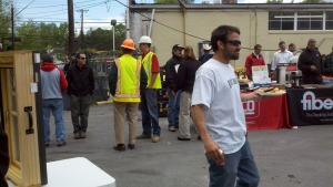 TW Perry Spring Contractor Appreciation Day... notice the T-Shirt.