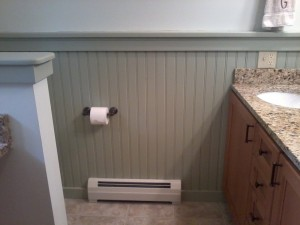 RA Perry Builders impressive wainscot/Ricci Supply, NH