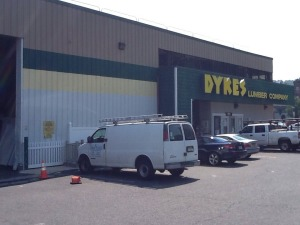 Moldings at Dykes Lumber
