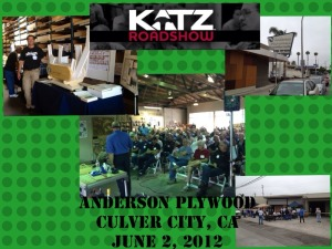 Katz Roadshow- Anderson Plywood, CA