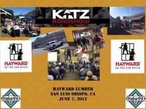 Katz Roadshow - SLO Hayward