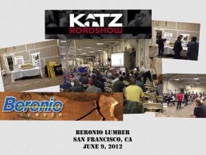Katz Roadshow - Beronio Lumber