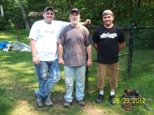 Jim and the Crew of Jim Kelly Contracting - MA