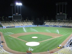Empty Dodger Stadium