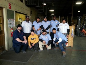 The crew down at Wilson Plywood & Door....