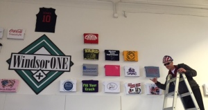 The Wilson Plywood Shirt makes the WindsorONE Wall of Fame!