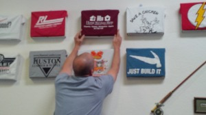 Home Services Shop shirt finds a home on the WindsorONE Wall of Fame!