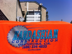 Keeping up with Kardashian Construction….