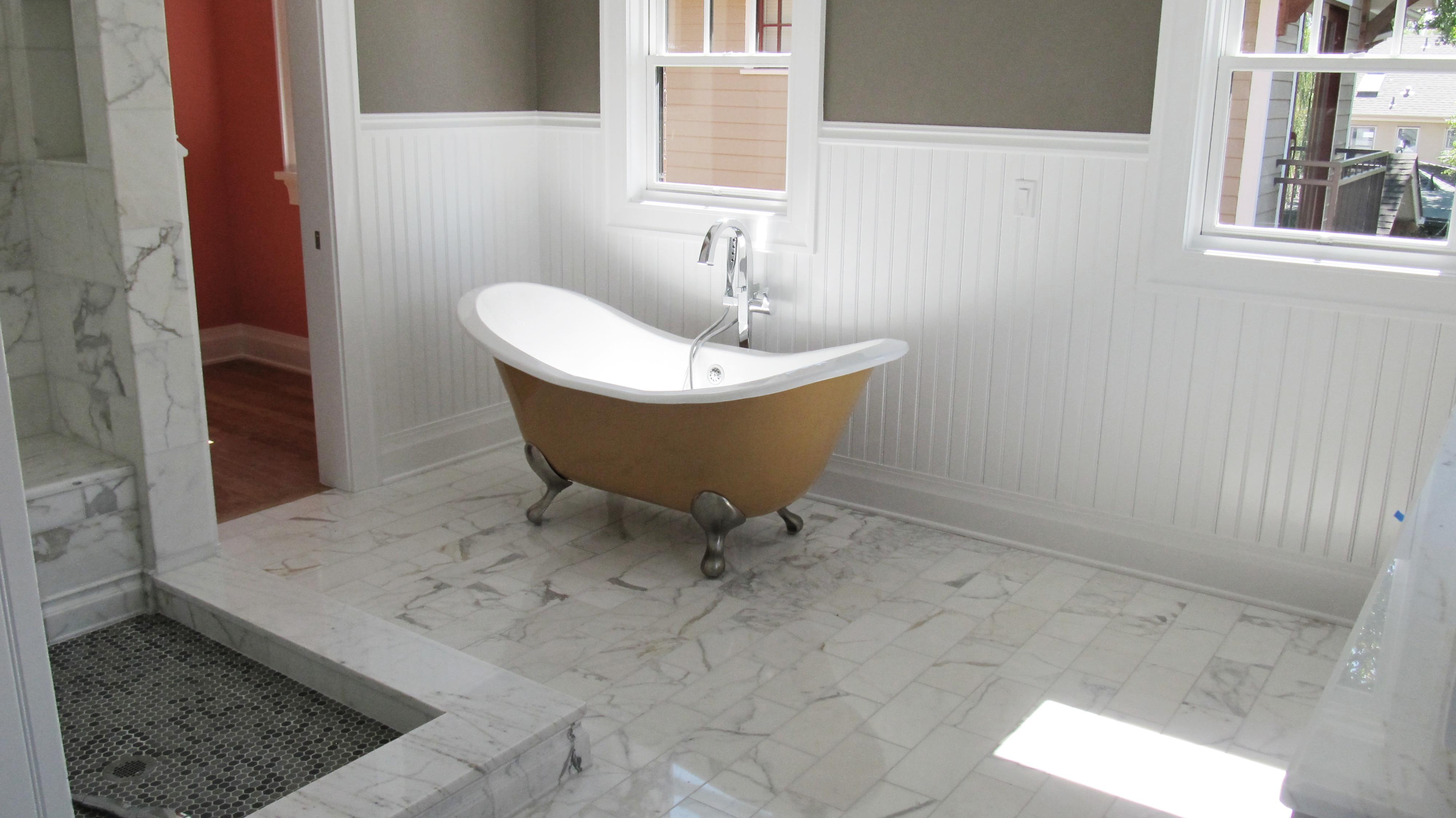 Wainscot bathroom pictures - 016 2