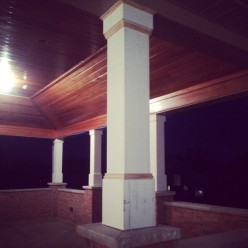 Covered Porch Column